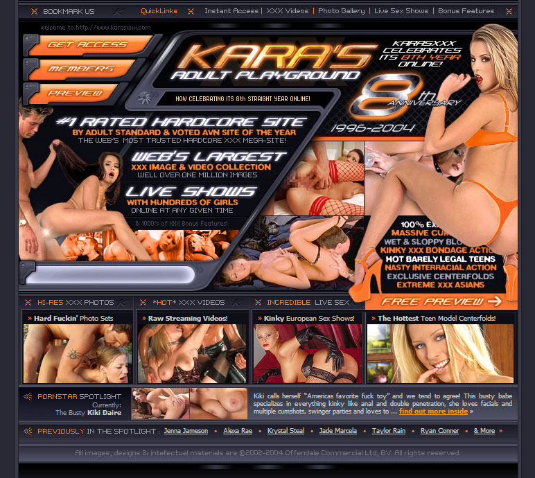 KarasXXX - Adult Website Design by Wyldesites the Best Adult Website ...: wyldesites.com/project/karasxxx
