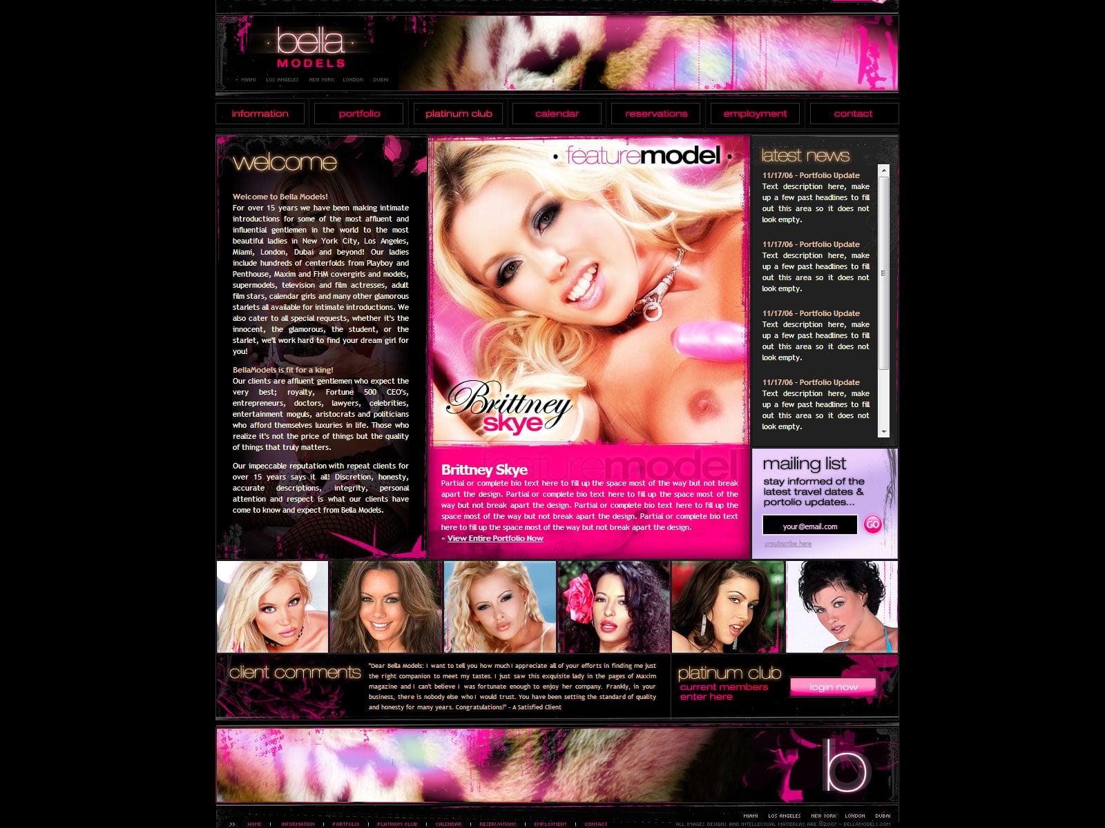 Bella Models v2