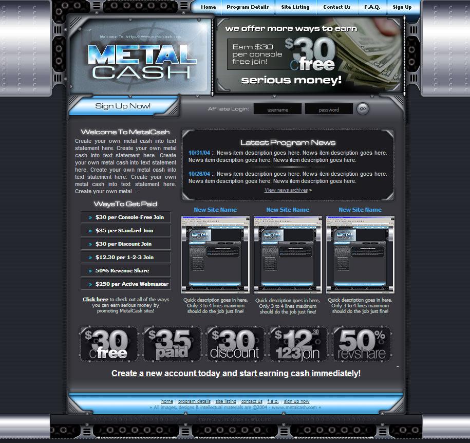 Metal Cash