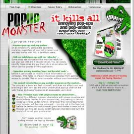 PopUp Monster