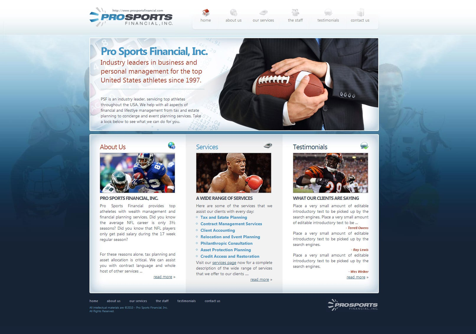 Pro Sports Financial