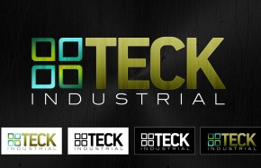 Teck Industrial Logo Design