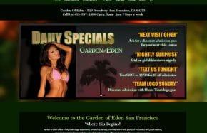 Garden Of Eden - San Francisco
