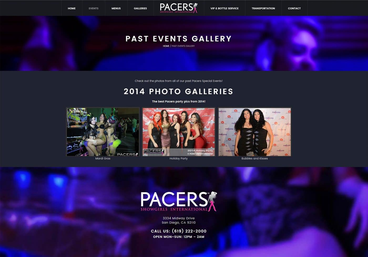 Pacers Show Girls new design