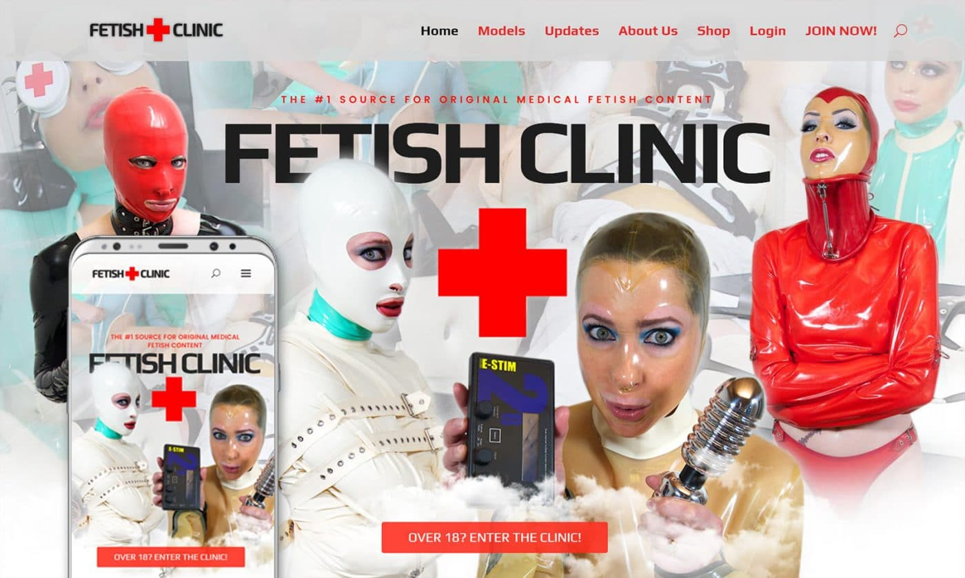 New design: FetishClinic.com