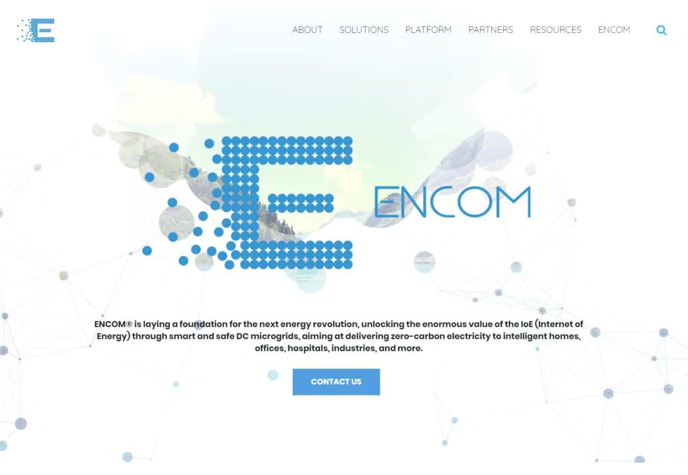 Encom Energy - New Site